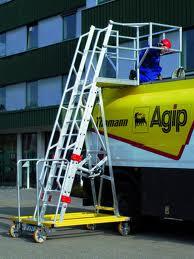 escalera camion cisterna